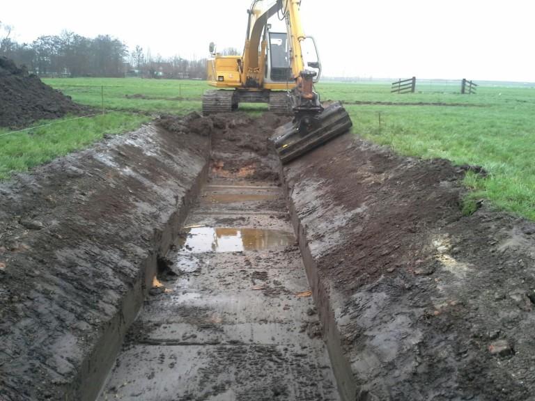 Sloot graven