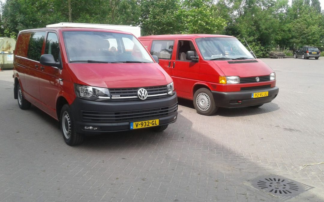 Nieuwe Volkswagen Transporter